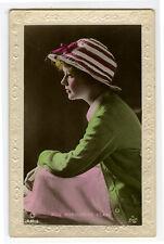 1920's Vintage Film Movie Star MARGUERITE CLARK antique British photo postcard