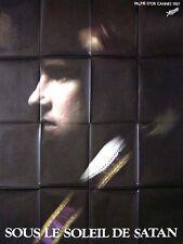 Affiche 60x80cm SOUS LE SOLEIL DE SATAN 1987 Pialat, Depardieu, Bonnaire BE