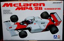 1985 McLaren MP4/2B Monaco GP F1 Lauda Prost, 1:20, Aoshima Beemax 081914