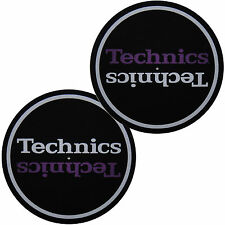 Slipmats Technics DMC - mirror design (1 paire / 1 pair) mltd NEUF