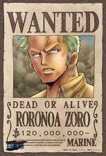 【One Piece】RORONOA ZORO mini pazzle JAPAN god anime