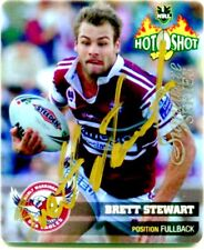 2006 NRL SIGNATURE SERIES TAZO BRETT STEWART MANLY SEA EAGLES 1/20 ONLY