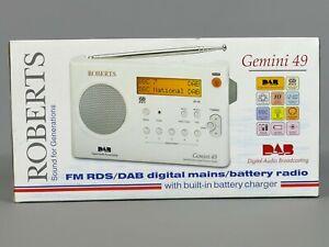 Roberts Gemini 49 FM RDS/DAB Portable Radio        |5