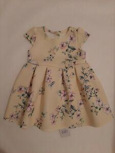 BNWT Floral Dress 6-9 Months