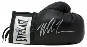 Mike Tyson Signed Black Right Everlast Glove JSA