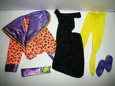 Jem Holograms 80's Doll Vtg Hasbro Clothes Fashion #85 Were off and Running
