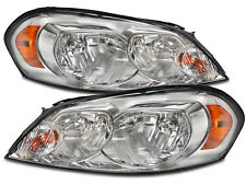 Headlamps Pair Set Fits 06-2013 Chevy Impala Halogen 06-07 Monte Carlo