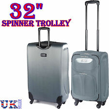 """NEW EAGLE 32"""" 122L 4 WHEEL SPINNER TROLLEY CASE SUITCASE LUGGAGE CABIN CART BAG"""