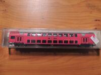 Flm # 8755 # Doppelstockwagen 2. KL., Ba. B, 4-achs., rot, `Sihltal-bahn` #OVP