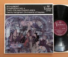VICS 6700 C SCHUBERT Symphony No. 4 Denis Vaughan Naples RCA stéréo ED1 Presque comme neuf/EX