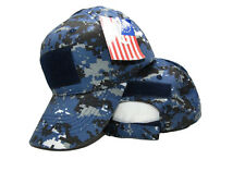 Navy Tactical Operator Operators Blue Acu Desert Digital Camo Letter Cap Hat