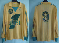 Maillot Fc NANTES Ventex Adidas Europe 1 vintage #9 Jersey acrylique - L