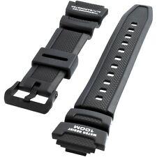 Casio Original Watch Strap Band for SGW-300H SGW-400H SGW-300 SGW-400 Black 18MM