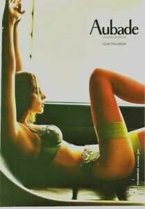 Original vintage poster SEXY FRENCH LINGERIE AUBADE (2)