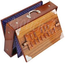 "SHRUTI BOX~TEAK WOOD~BIG SIZE (15""X10""X3"")~440Hz~YOGA~MANTRA~KIRTAN~FREE GIG BAG"
