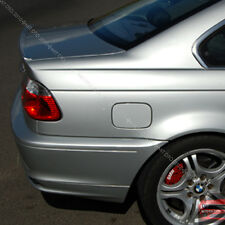 Painted BMW E46 Coupe 2DR M3 Trunk Lip Spoiler Wing 354