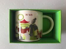 "New 2017 China Starbucks Coffee ""You Are Here YAH"" City Mug~~~Xi'an"