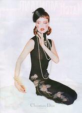 Publicité 1997  Vetement  DIOR  Collection mode sac à main ...