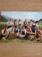 Postcard Unused Volkstumsgruppe Die Lustigen Arlberger St Anton Undated B 1100