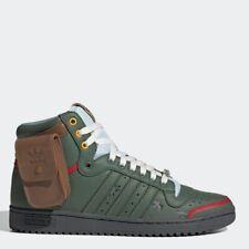 Adidas Top Ten Hi X Star Wars Green All Size Authentic Men's Originals - FZ3465