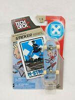 Tech Deck Throwback Sticker Series 6/6 H-Street Skateboard Toy