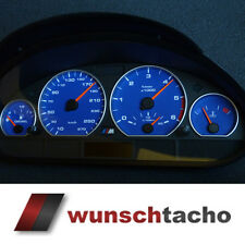 "Cristal velocímetro tacho bmw e46 ""ALP-azul"" 270 multaránpor m3 para diesel."