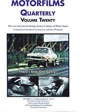 MOTORFILMS VOL. 20 DVD. GERRY MARSHALL, VAUXHALL ETC. 86 Min. App. DWPDVD3020