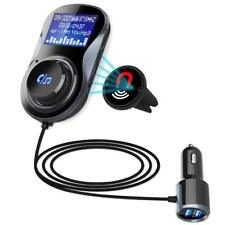 FM Transmitter Bluetooth Car MP3 Player Radio Audio Adapter Dual USB Charger