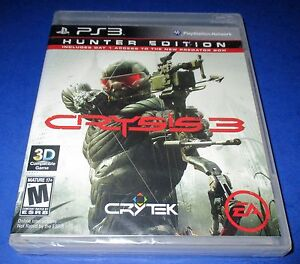 Crysis 3 -- Hunter Edition Sony PlayStation 3 *Factory Sealed! *Free Shipping!