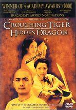 New listing Crouching Tiger Hidden Dragon 4 Academy Awards (10 nominations) Dvd Free Shipp
