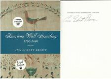 American Wall Stenciling 1790-1840 by Ann Eckert Brown Signed HC