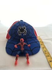 Children's Spiderman Baseball Cap with bonus Spiderman Action Figure