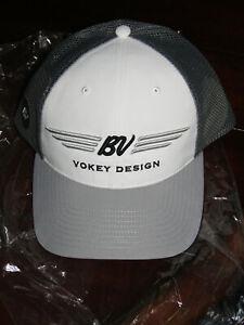Vokey Tour Perferred Mesh, Charcoal Grey / White Adjustable Hat, BV Wings, BNIP