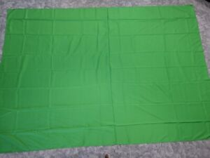 6 x 9 ft Green Screen Backdrop Photo Studio Background Photography w/4 Clamps