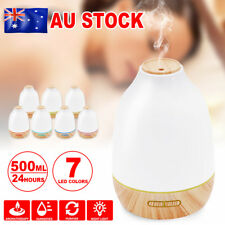 Aromatherapy Essential Oil Ultrasonic Aroma Air Diffuser Humidifier Light Lamps