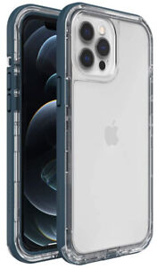 LifeProof NEXT Series Case for iPhone 12 Pro Max - Clear Lake(Blue)