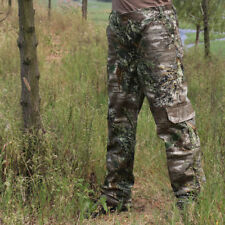 100% Cotton Men's Hunting Camouflage Pants Real Tree Shrub Bionic Trousers