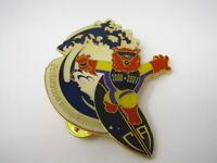 Vintage Collectible Pin: 2001 Destination Imagination CA Bear Surfing Design