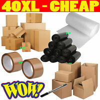 X-Large Cardboard Box House Moving Removal Packing Kit