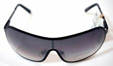 Dockers NEW Metal Shield Fashion Sunglasses 100% UV Black Authentic NWT ~ryokan