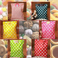 Bulk 50 Chevron Paper Bags Lolly Candy Buffet Wedding Party Favours Xmas Gift AY