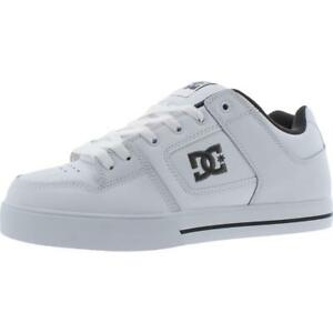 DC Shoes Pure Men's Leather Low Top Classic Skateboarding Sneakers