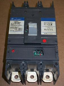 GE SGDA 3 pole 400 amp frame 240v SGDA32AT0400 Circuit Breaker FLAWED