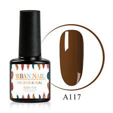 7ml 18 Colors UV LED Gel Nail Polish Top Base Coat Manicure Long Lasting Salon