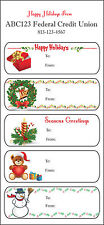 Holiday Stickers: Christmas Gift Labels Stickers - Personalized (1,000 sheets)