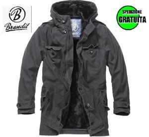 Brandit 3137-2 cappotto giacca uomo militare army invernale bw parka nero l 4XL