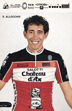 CYCLISME carte cycliste S. ALLOCCHIO équipe  CHATEAU D'AX
