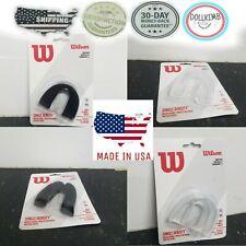 Mouth Guard  Clear, BLAC Single Density Wilson Football Basketball Protect teeth