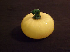 Murano Tomate jaune Verre Crystal Tomato Art déco/nouveau Vintage New Design70'