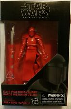 Star Wars The Black Series Elite Praetorian Guard Action Figure 3.75 MINT